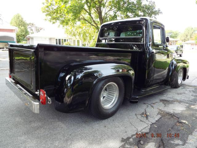 1956 Ford, Pick Up Truck, Pro Touring, Pro Street, Rat Rod