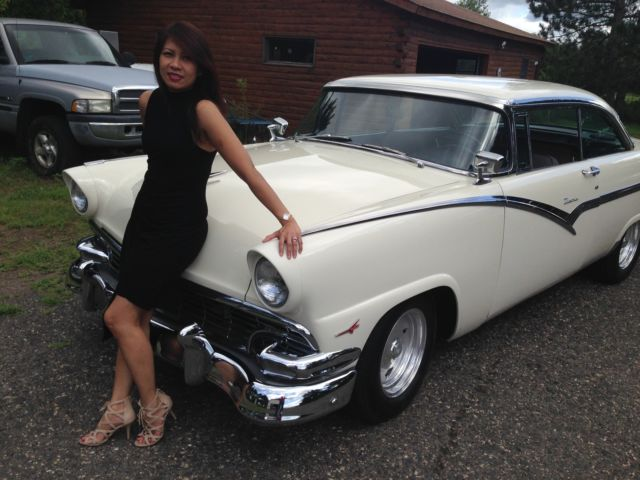1956 Ford Victoria 2 Dr Ht 272 Y Block Aod For Sale In