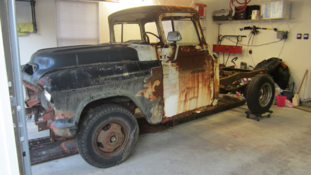 1956 gmc chevy pickup truck project big window 1955 for 1955 chevy big window for sale
