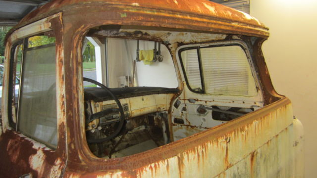 1956 Gmc Chevy Pickup Truck Project Big Window 1955