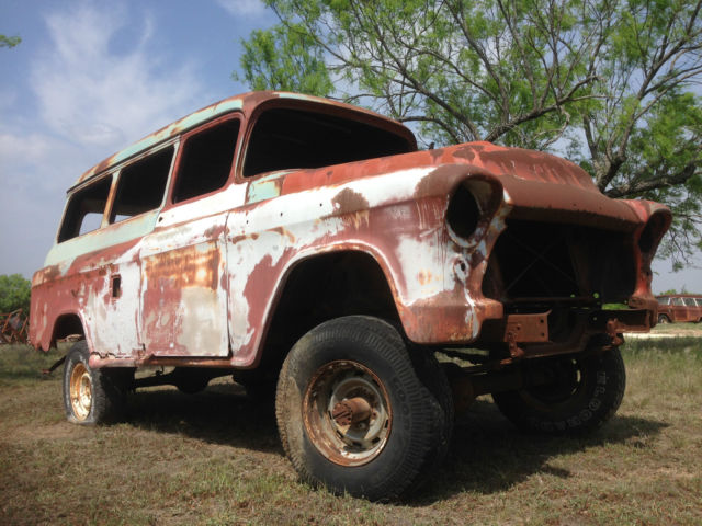 1956 Gmc Factory 4wd Suburban Carryall Napco 4x4 For Sale In Burnet