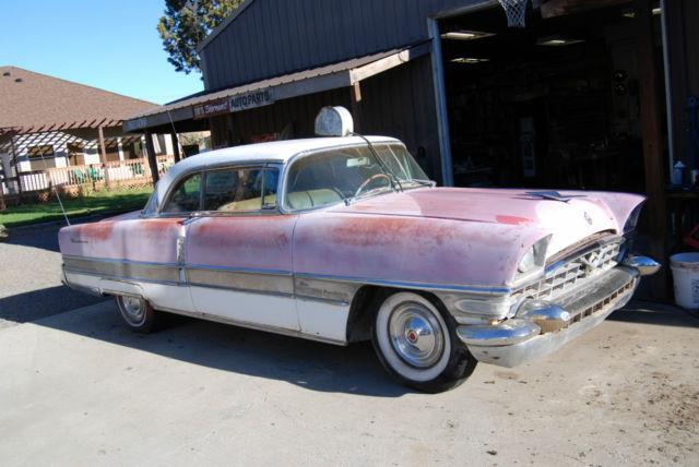 1956 Packard 400 2 Door Hardtop Factory Pink White