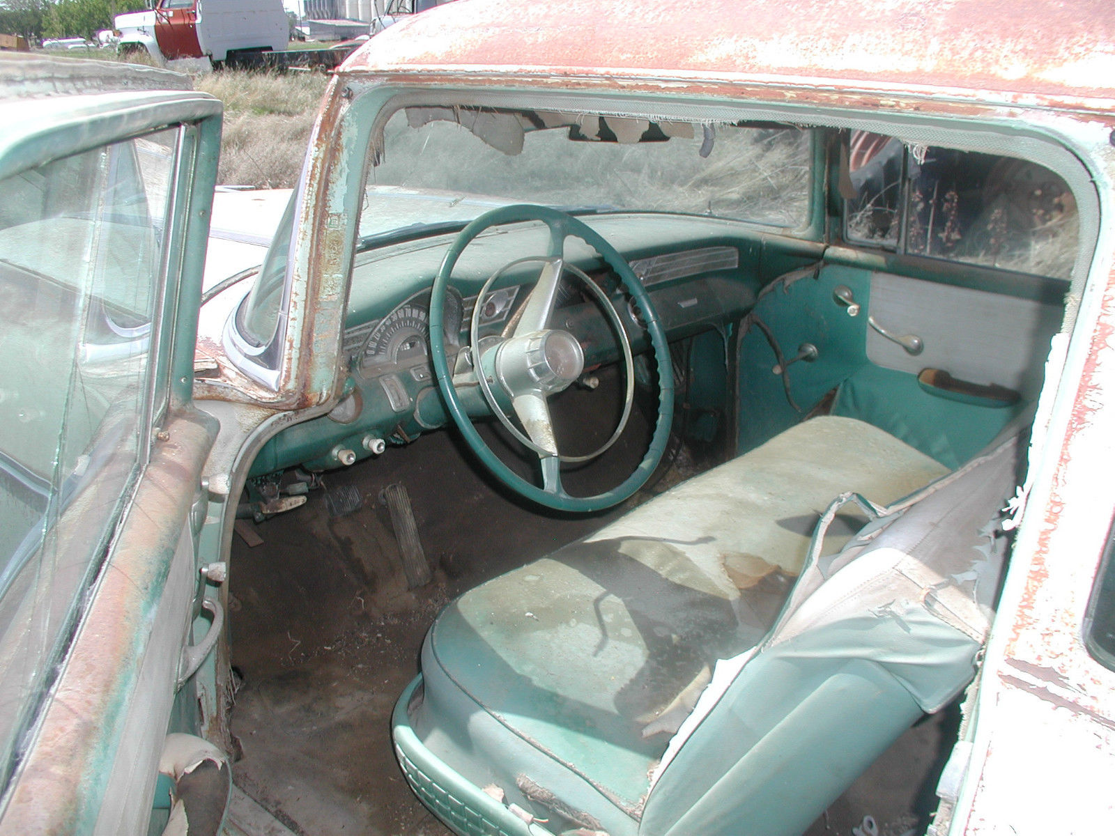 1956 Pontiac 2 Door Post Classic Rat Rod 55 Chevy Parts