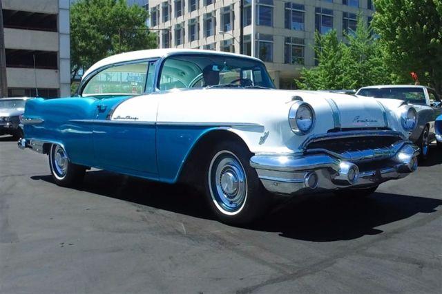 1956 pontiac star chief 2 door hardtop v8 automatic for 1956 pontiac 2 door hardtop