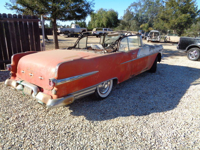 1956 Pontiac Starcheif Convertible Restoration Project For
