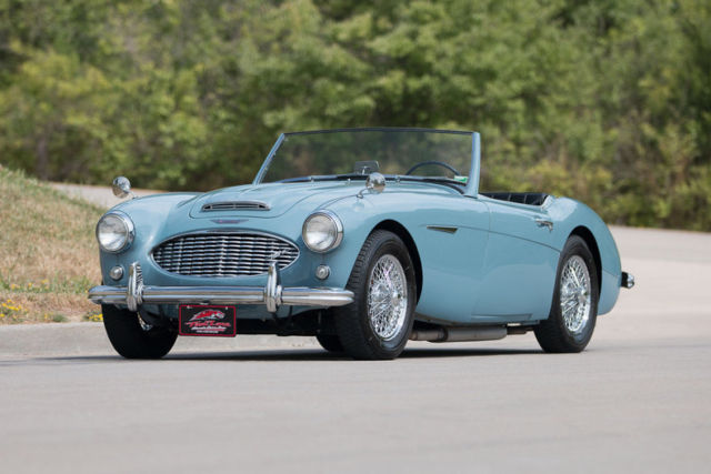 1957 austin healey 100 6 electronic overdrive chrome wire. Black Bedroom Furniture Sets. Home Design Ideas