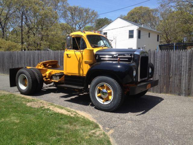 1957 B Model Mack Truck For Sale In Centereach New York