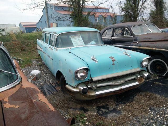 1957 chevrolet 4 door wagon for 1957 chevy wagon 4 door