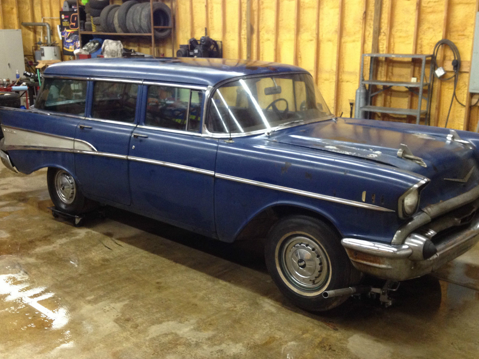 1957 Chevrolet Bel Air Base Wagon 4 Door For Sale In Russell Chevy Station 150 210
