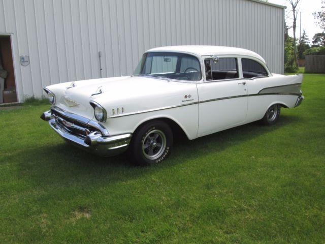 1957 chevrolet chevy bel air 2 door sedan fuel injection for 1957 chevy 2 door sedan