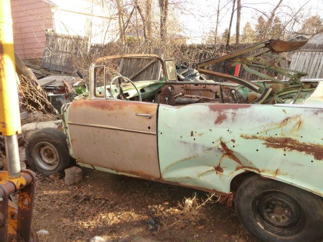 1957 Chevrolet Convertible Original With 1957 4 Door Bel