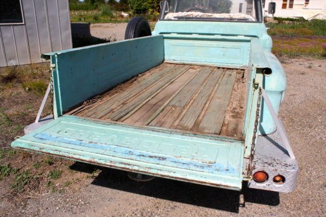1957 Chevrolet Stepside Pickup Big Window Long Bed 1 2