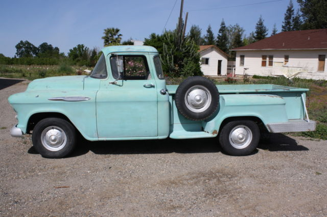 1957 chevrolet stepside pickup big window long bed 1 2 for 1957 chevy big window truck for sale