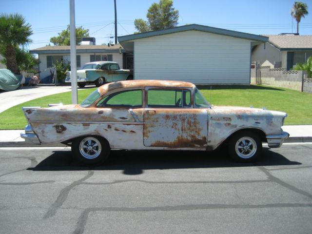 1957 Chevy 1211-B Utility Sedan 2 door black widow coupe for sale in Las Vegas, Nevada, United