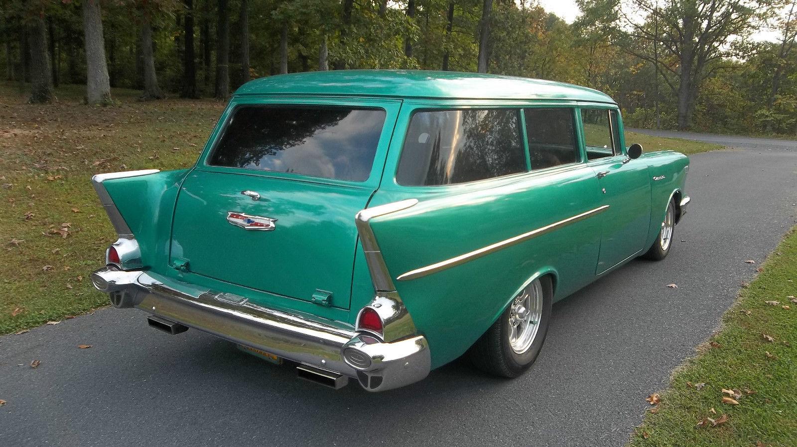 1957 chevy 2 door handyman wagon rare 350 auto for 1957 chevy wagon 4 door