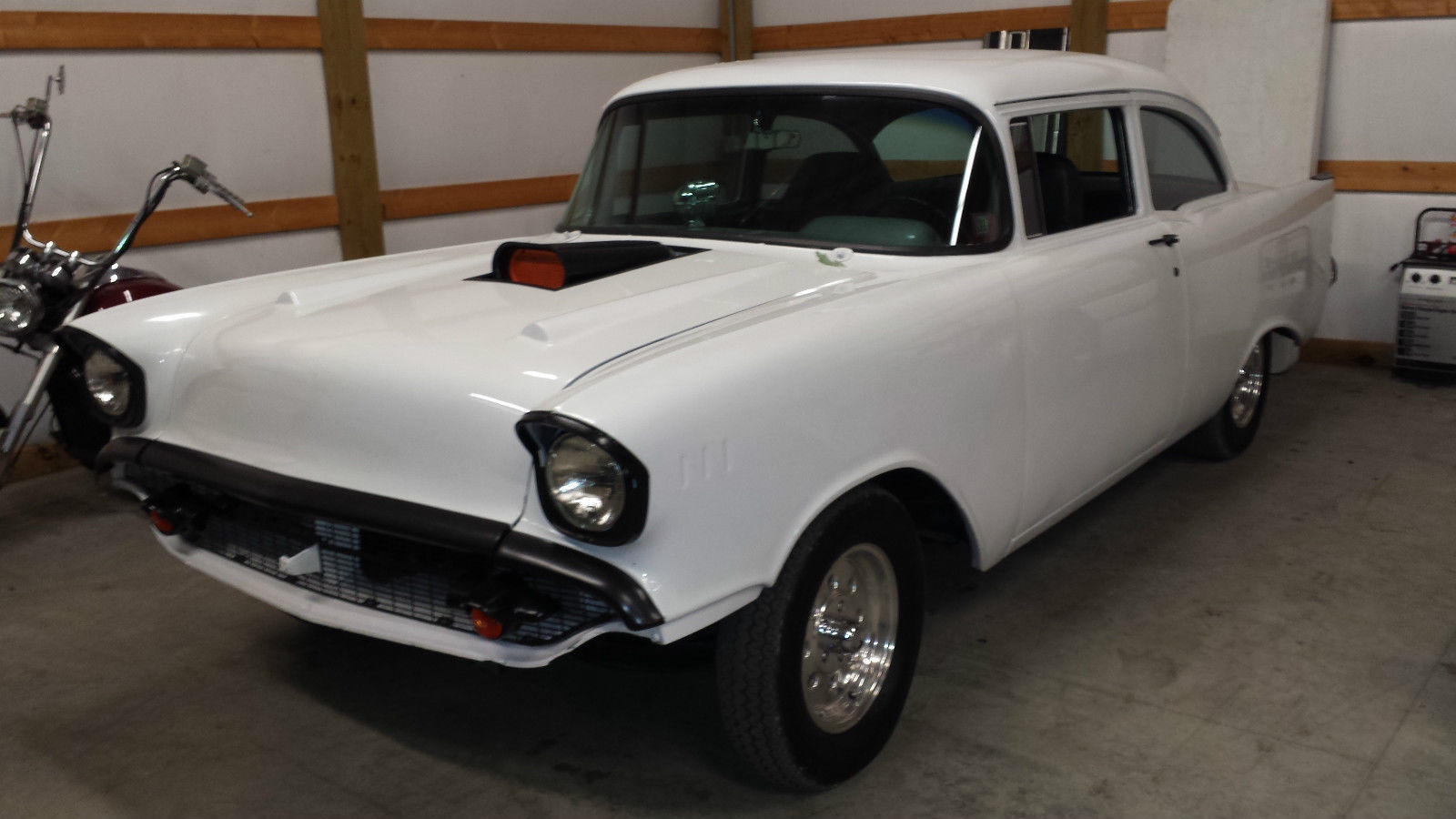 1957 chevy 2 door post car with lots of power 2 street rod for 1957 chevy 2 door for sale