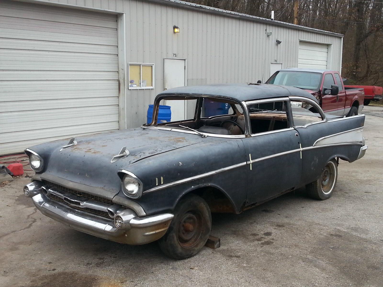 1957 chevy 2 door post true bel air car for sale in for 1957 chevy belair 2 door post