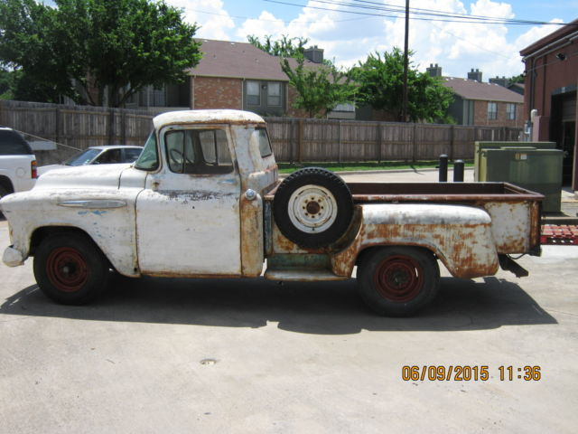 1957 Chevy 3600 Shop Truck Rat Rod Barn Find V8 No Reserve