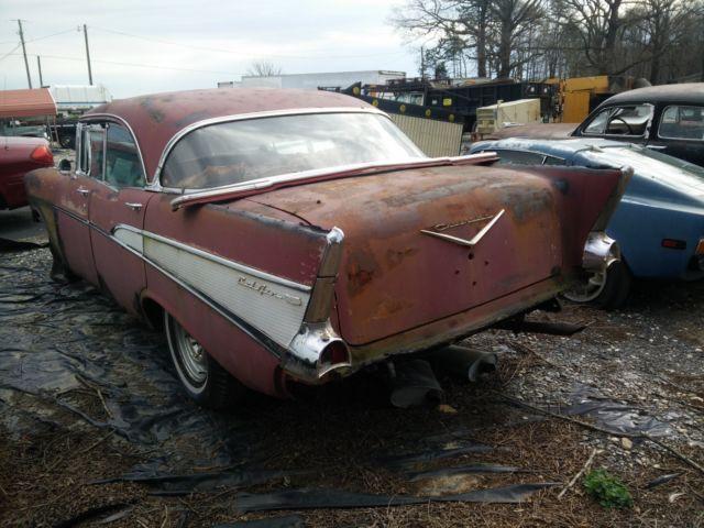 1957 chevy bel air 4 door hardtop for 1957 belair 4 door hardtop