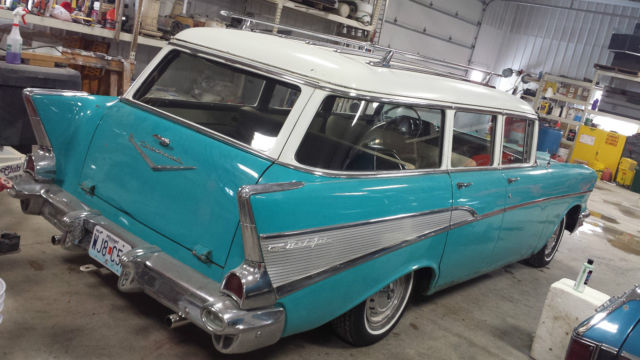 1957 Chevy Bel Air 4 Door Station Wagon For Sale In Mexico