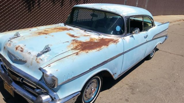 1957 Chevy Bel Air Solid Barn Find Patina California