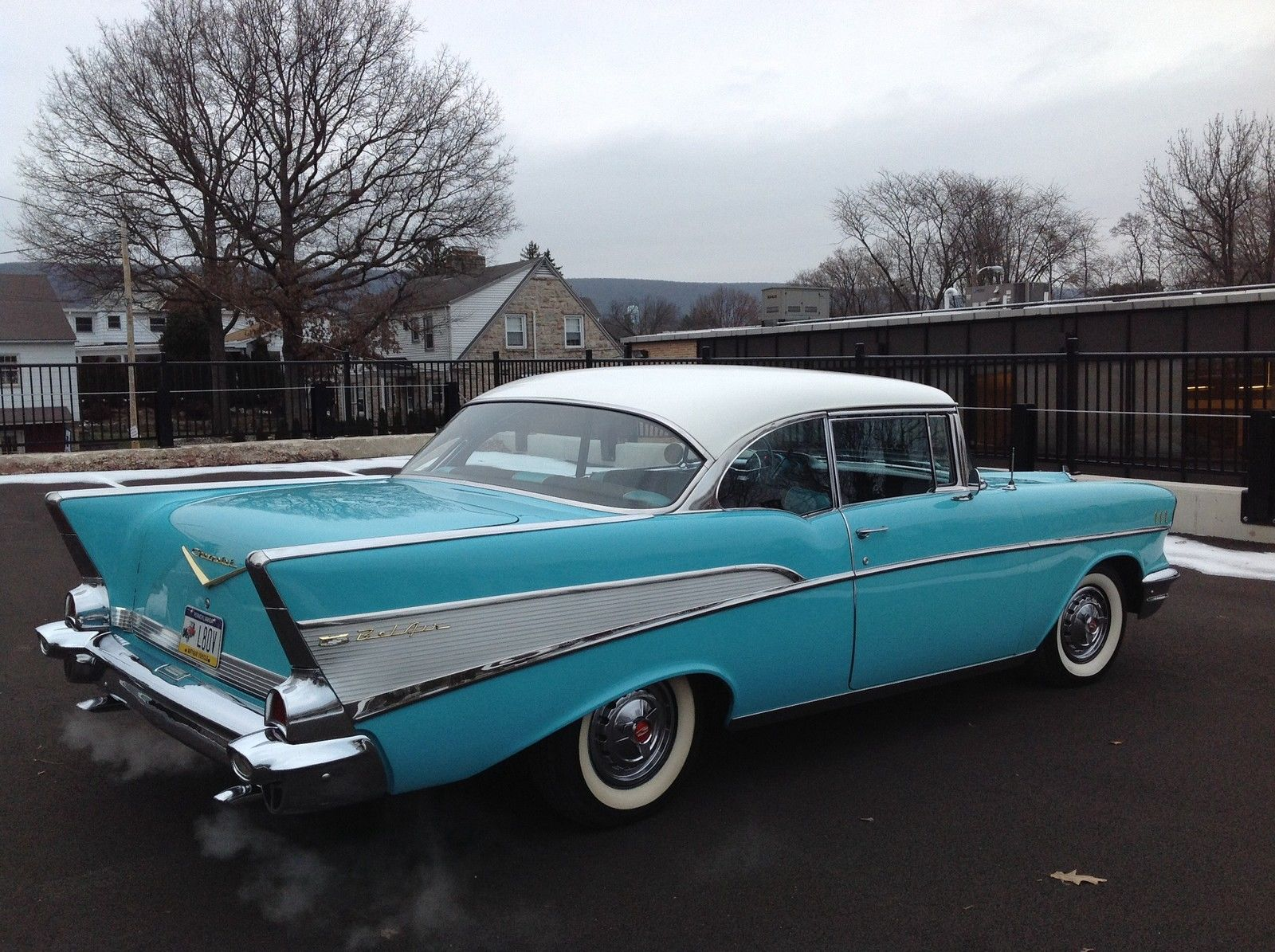 Chevy Bel Air Sport Coupe Power Pack V