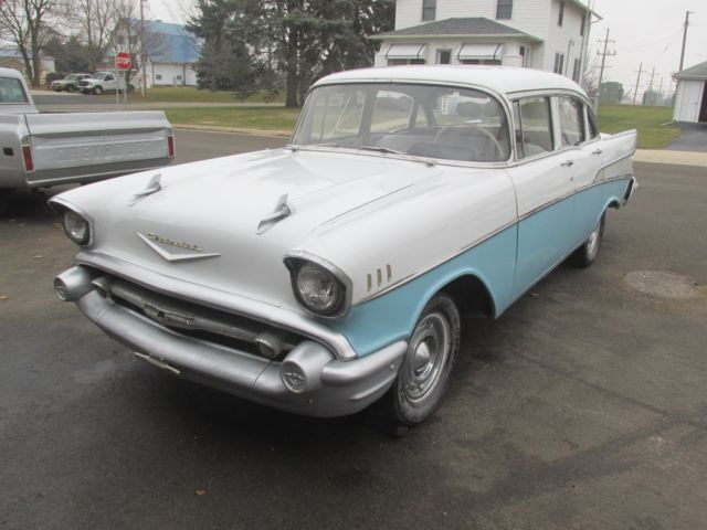 1957 Chevy Belair 150 210 Solid V8 Car Car Nice Original