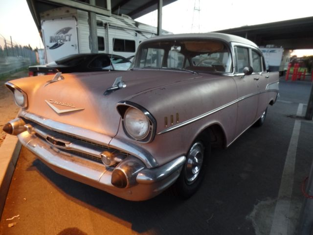1957 chevy belair sedan 4 door factory air condition and for 1957 chevy 4 door sedan