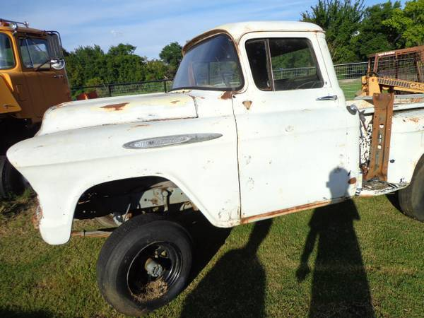 1957 Chevy Napco Step Side 4x4 Picku Truck