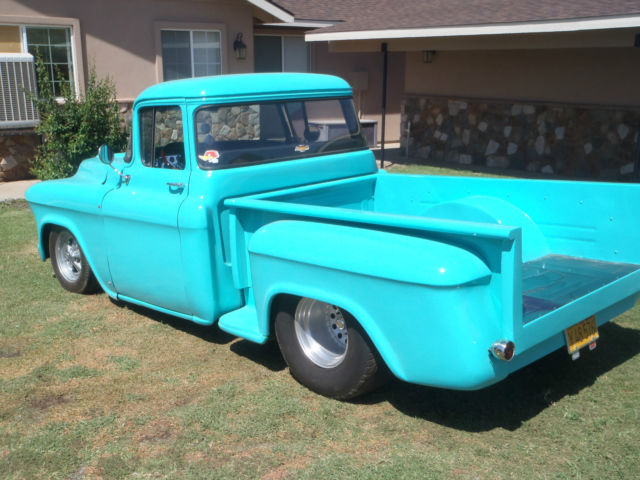 1957 chevy pickup truck pro street prostreet big window shortbed for sale in sheridan. Black Bedroom Furniture Sets. Home Design Ideas