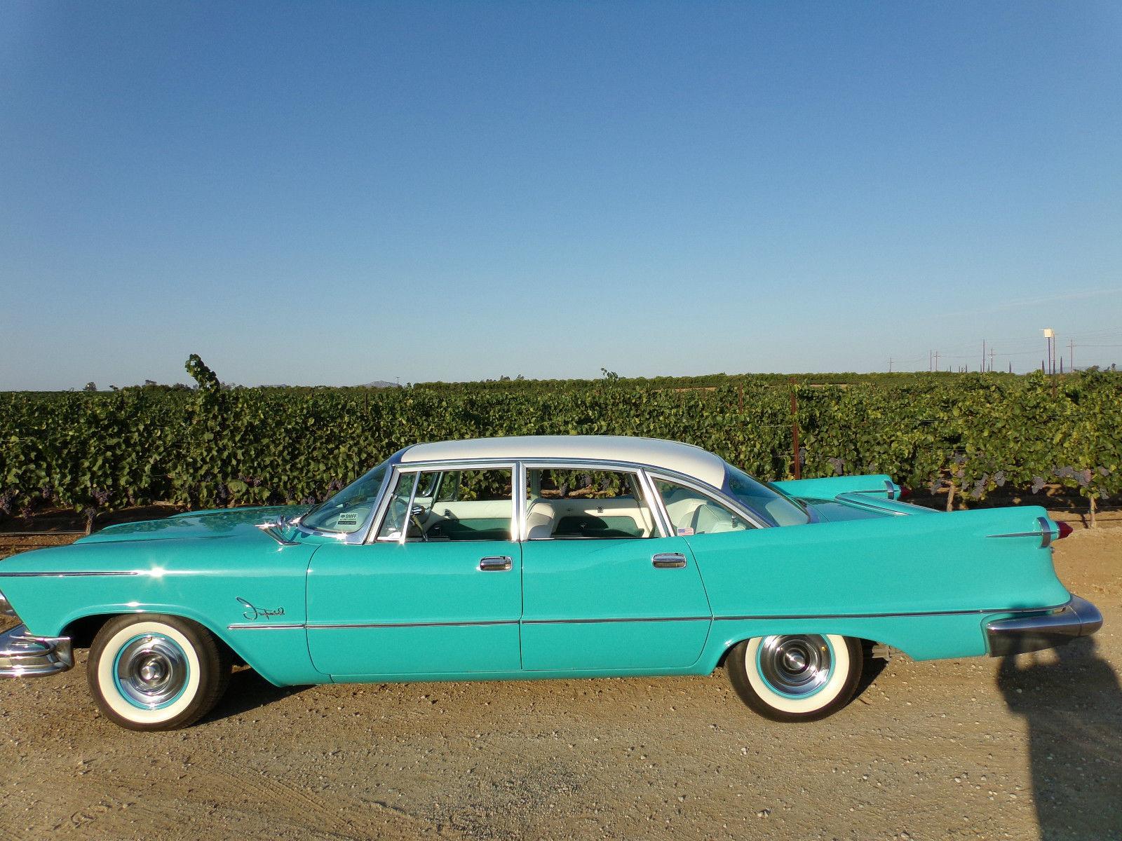 1957 Chrysler Imperial Base Sedan 4 Door 6 4l 392 Hemi For