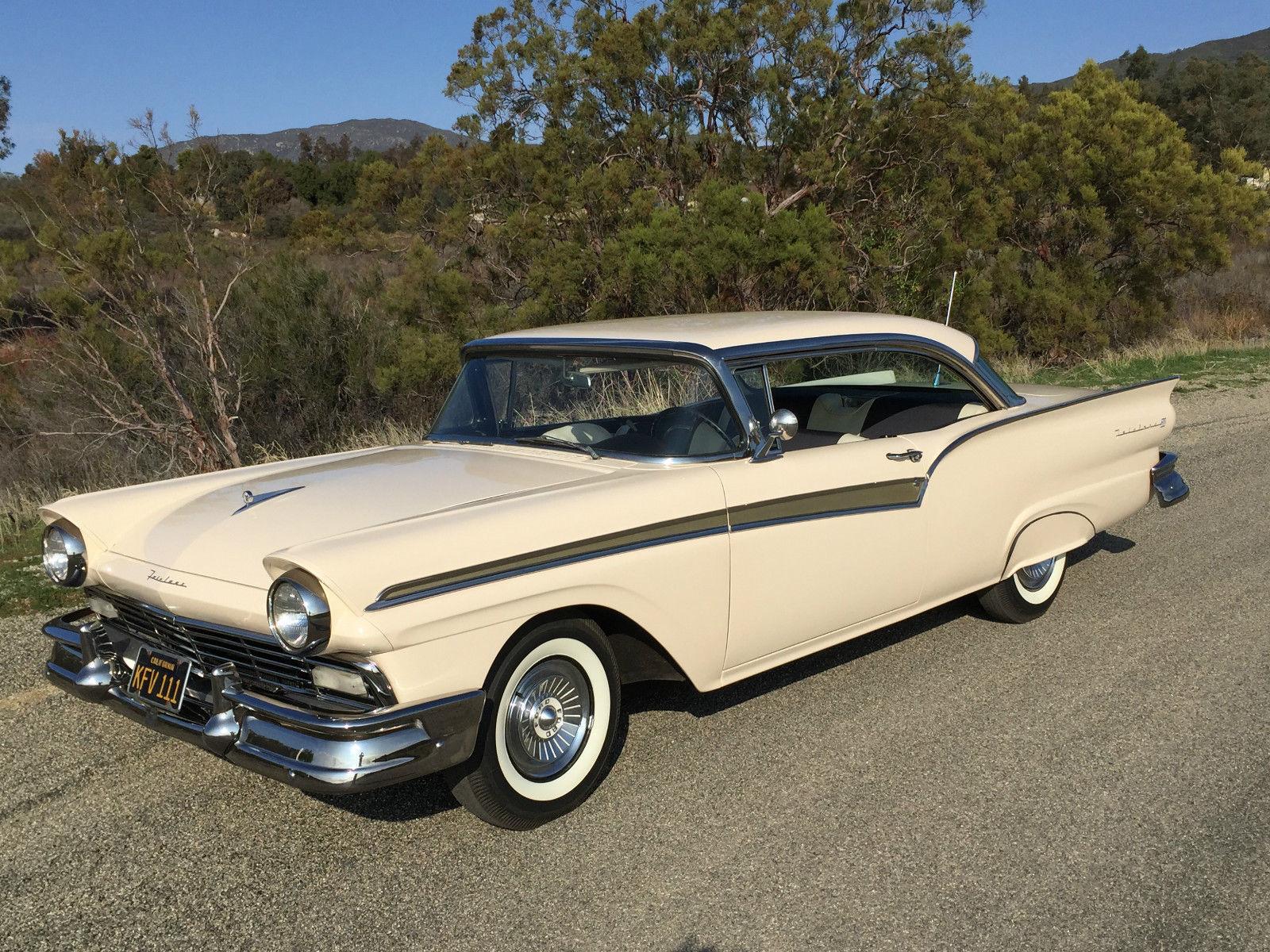 Wonderful 1957 Ford Fairlane Michaelieclark Wiring Diagram 1956 Sunliner 500 Club Victoria 2 Door Hardtop California Car Restored For Sale In Aguanga
