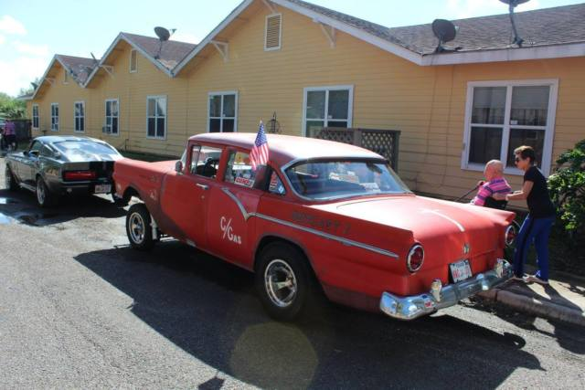 Ford Fairlane Gasser on Ford C6 Automatic Transmission