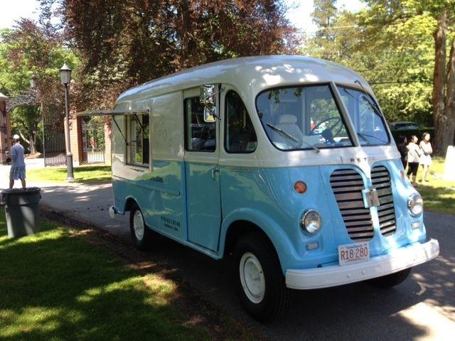 1957 International Metro Van Antique Popcorn Food Truck