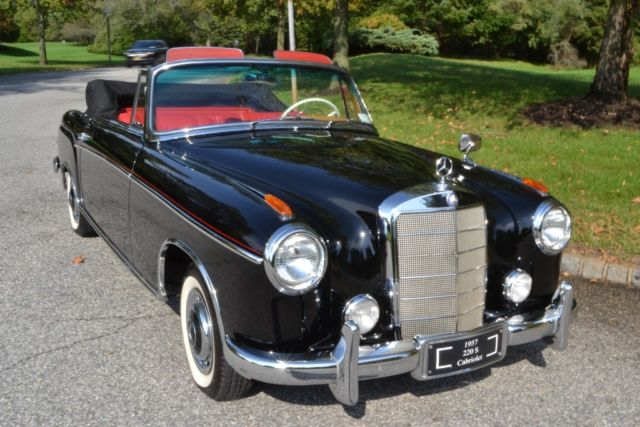 1957 mercedes benz 220s cabriolet in excellent condition for Southampton mercedes benz