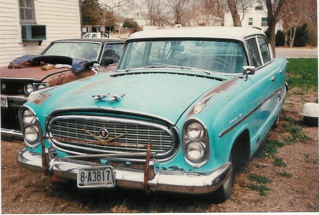 1957 Nash Ambassador Super Farina Classic Or Rat Rod