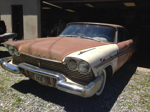 1957 Plymouth Fury For Sale >> 1957 Plymouth Fury 22K orig miles Mopar Dodge 1958 Christine