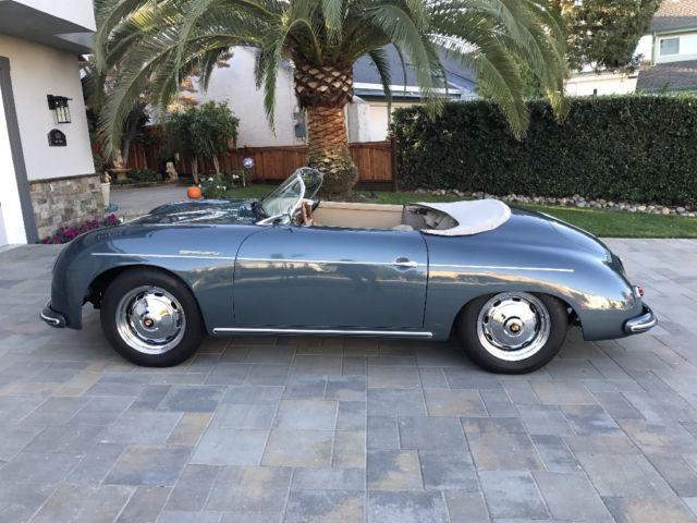 1957 Porsche 356 Speedster Vintage Speedsters Replica No