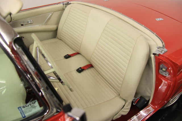 1957 T Bird Concours Restored D Code 312ci Disc Brakes