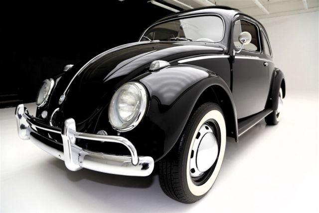 1957 volkswagen beetle full sunroof oval window manual sedan for 1957 oval window vw bug