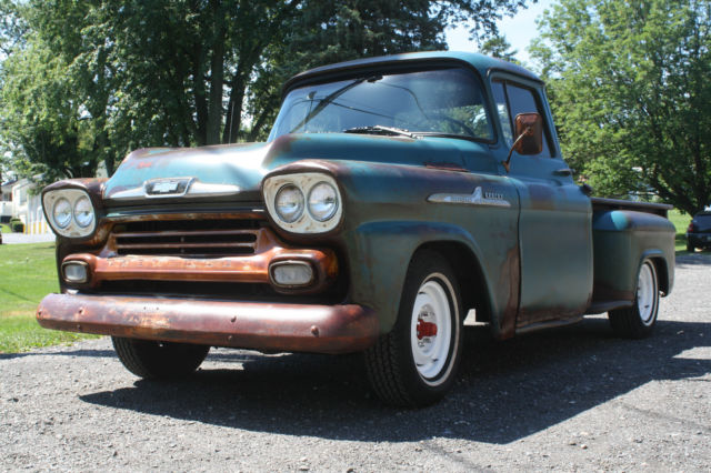 1958 Chevrolet Apache 32 Series Pick Up Truck For Sale In Myerstown