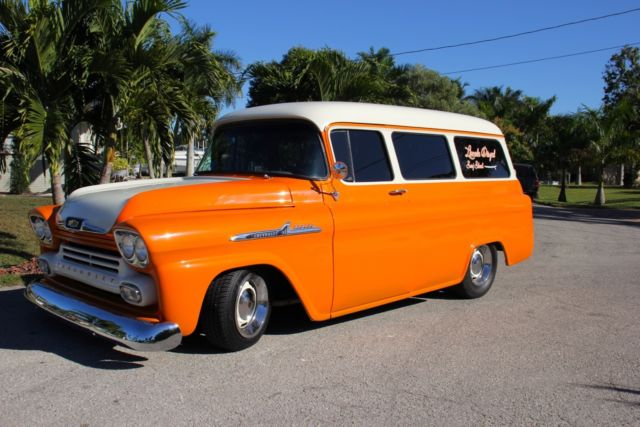 1958 Chevrolet Apache Suburban Custom Car Chevy 58 For