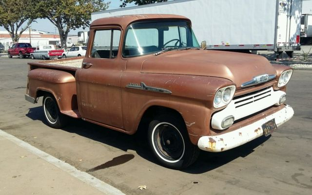 1958 chevrolet chevy truck 3100 big window patina for 1955 chevy big window for sale