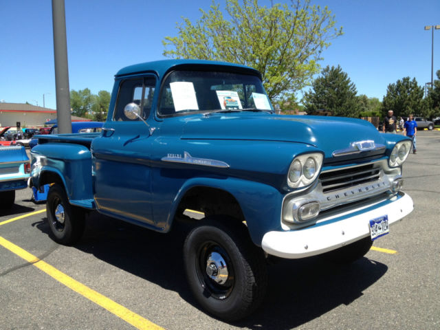 1958 Chevrolet Pickup With Factory Installed Napco 4x4