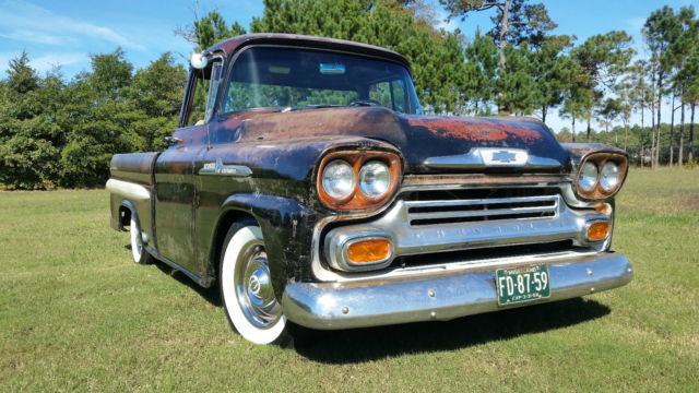1958 Chevy Apache For Sale >> 1958 Chevy Apache Fleetsite Pickup Patina For Sale In Berlin