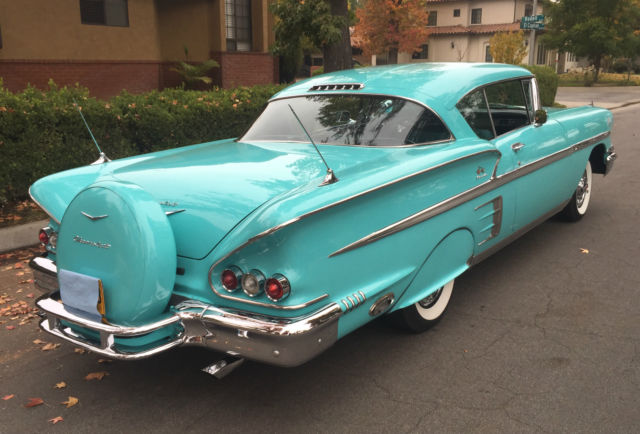 1958 Chevy Impala Sport Coupe, 348 Tri-Power Engine for sale: photos, technical specifications