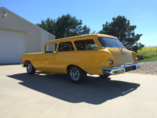 1958 Chevy Yeoman 2 Door Wagon 58 Chevrolet Station Wagon
