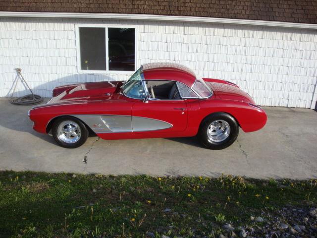 1958 Corvette Pro Street
