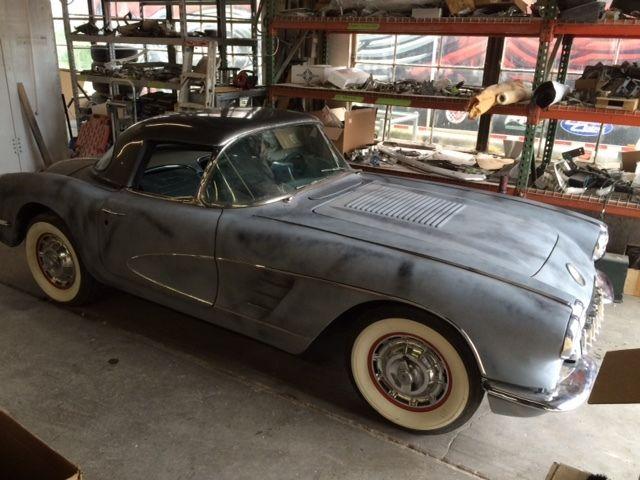 1958 corvette project car for sale in springfield ohio united states. Black Bedroom Furniture Sets. Home Design Ideas