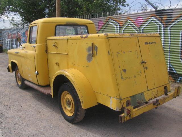 1958 Dodge D 10 Pickup Bell Telephone Utility Truck Rare